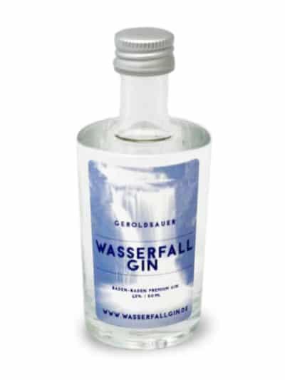 Wasserfall Gin Miniatur