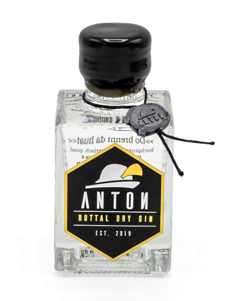 Anton Rottal Dry Gin Miniatur