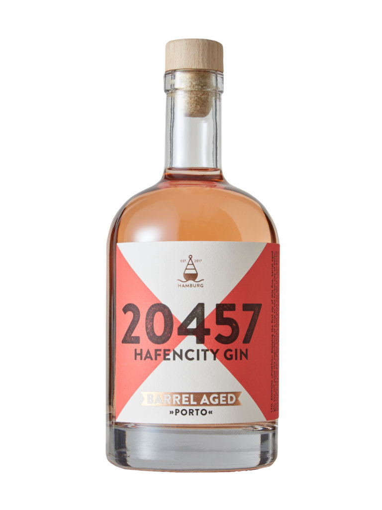 Hafencity Gin Barrel Aged »Porto«