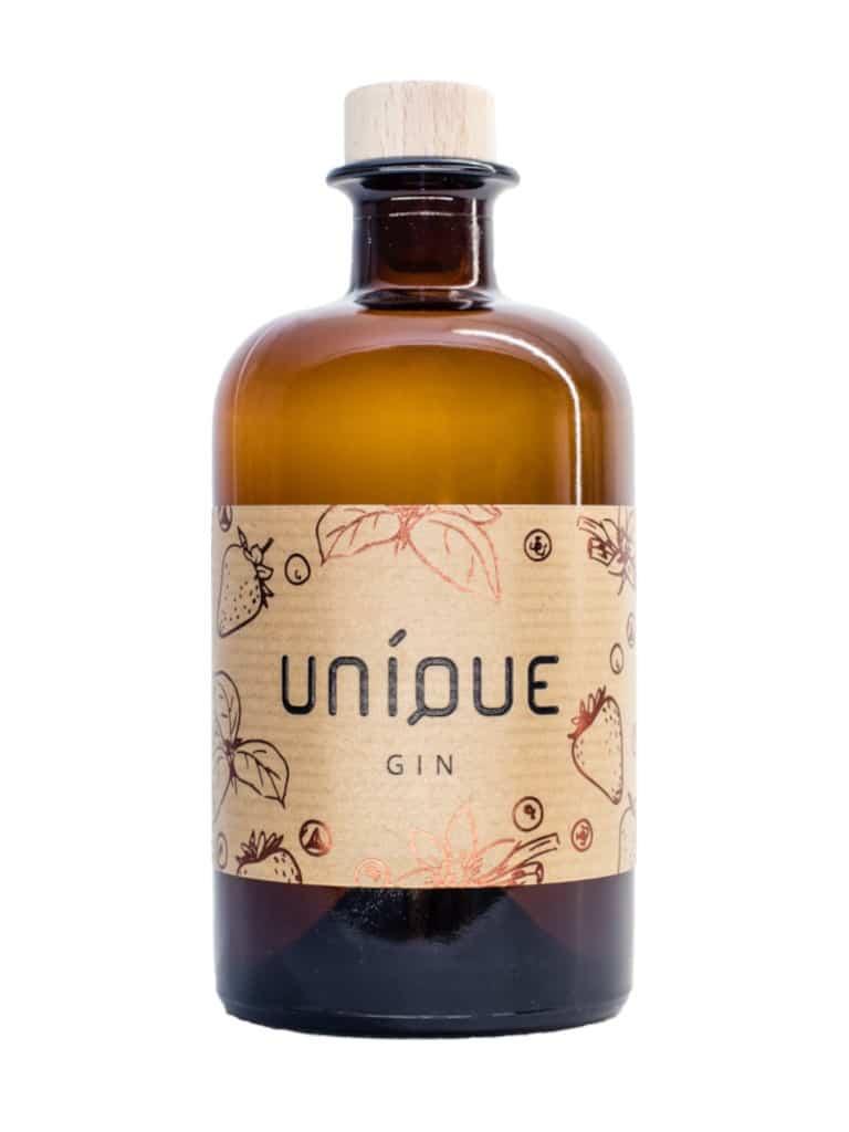 UNIQUE Gin Erdbeer Gin