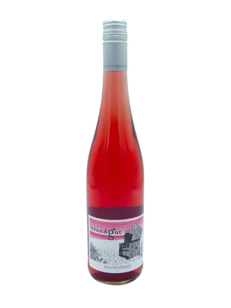 Geisser Strandgut rose Flasche