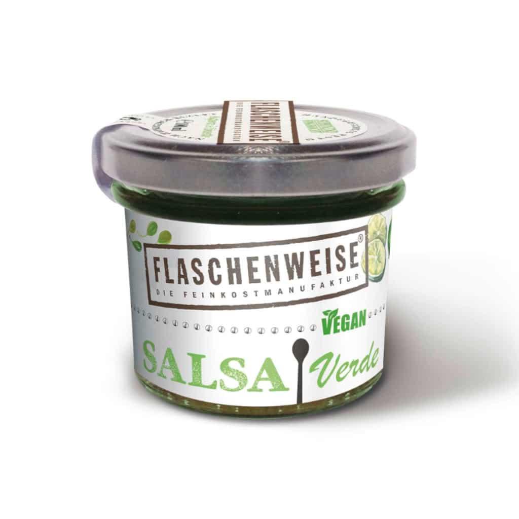 Flaschenweise Salsa Verde